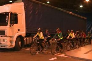 Каква е мъртвата зона на камион (видео)